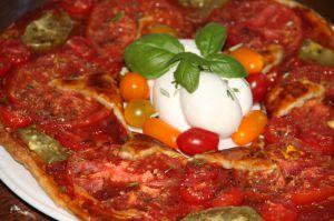 Recette Tarte couronne de tomates au curry