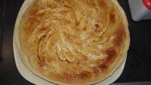 Recette Tarte de pomme et amande