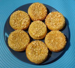 Recette Petits gâteaux érable amandes