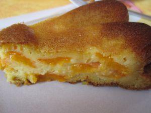 Recette Gâteau aux abricots à la fève Tonka