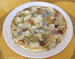 Recette Frittata aux pommes de terre et aux artichauts