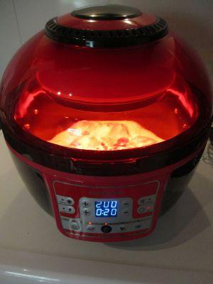 """Recette Pilons de poulet en sauce coco, fruits secs """"cuisson friteuse à air chaud"""""""