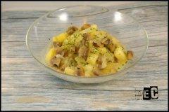Recette Champignons et pommes de terre au cookeo