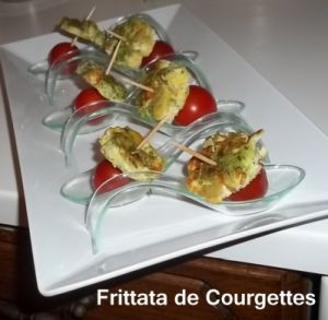Recette Tour en Cuisine 5 : Frittata aux Courgettes