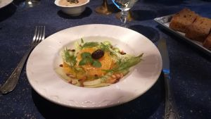 Recette Noël italien: salade d'orange et de fenouil