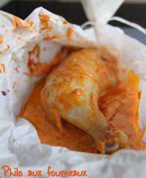Recette Cuisses de poulet au paprika