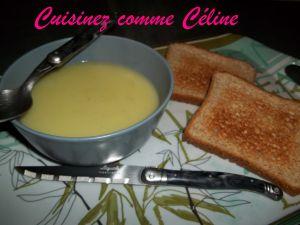 Recette Soupe courgettes