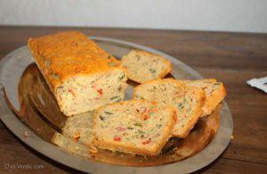 Recette Cake à la ratatouille du Logis de Mortier