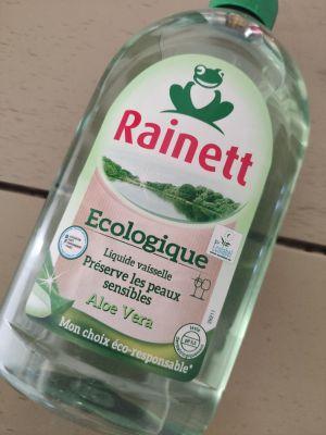 Recette Liquide vaisselle Aloe Vera de chez Rainett pour peau sensible