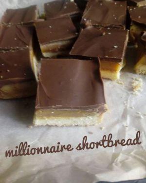 Recette Millionnaire shortbread