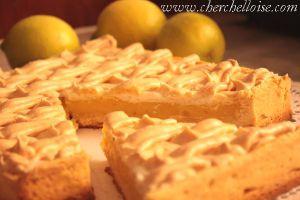 Recette Tarte aux citrons meringuée