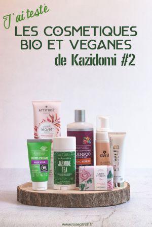 Recette Mes découvertes cosmétiques chez Kazidomi #2