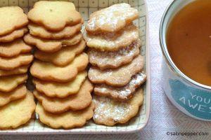 Recette Biscuits citron vert basilic crousti-fondants