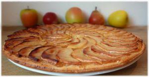 Recette Tarte fine pomme / poire