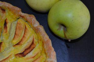 Recette Tarte aux pommes au lait d'amande