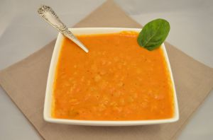 Recette Tomato soup - Soupe a la tomate