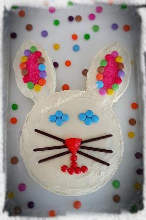 Recette Lapin en Gâteau de Pâques