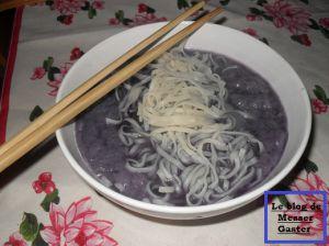 Recette Soupe bleue