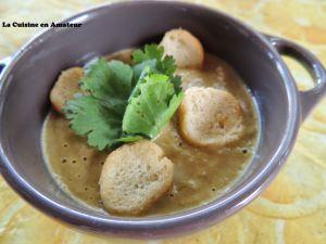 Recette Soupe de moules