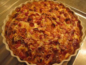 Recette Quiche aux Pommes de Terre / Quiche de Batatas