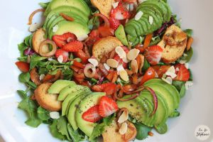 Recette Encore une salade d'été fraîche et colorée pour affronter la canicule!