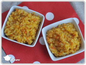 Recette Risotto à la carotte