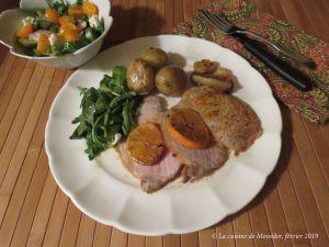 Recette Rôti de porc aux clémentines, cuisson parfaite +