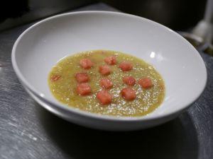 Recette [Une idée en passant…] Gaspacho de tomates vertes