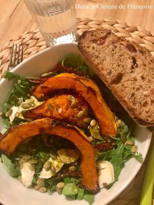 Recette Salade Pumpkin et Pesto