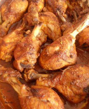 Recette Cuisine indienne,poulet tandori/tandoori