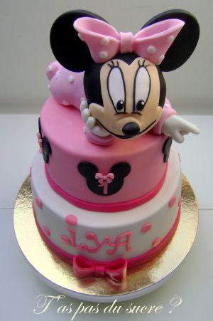 Recette Gâteau Minnie bébé
