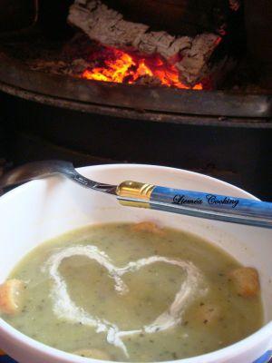 Recette Soupe de courgettes
