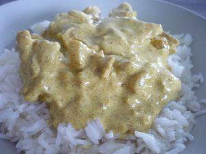Recette Tour en cuisine 223: Poulet au curry