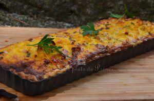 Recette Tarte au poulet, maïs et curry