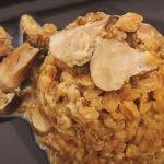 Recette Epeautre, façon risotto aux champignons
