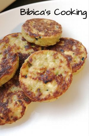 Recette Galettes de courgettes {i-Cook'in)