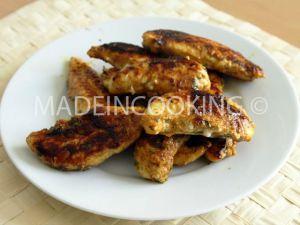 Recette Aiguillettes de poulet- Quand Tzek cuisine