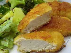 Recette Nuggets de poulet maison sans gluten et sans lactose
