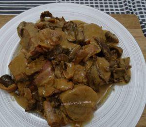 Recette Filet mignon de porc forestier