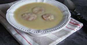 Recette Soupe de panais et de lentilles Corail parfumée à la saucisse de Morteau