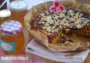 Recette Gateau cuit a la poele aux fleurs de sureau