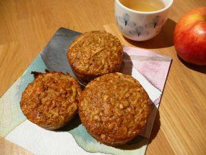 Recette Muffins de flocons d'avoine aux pommes