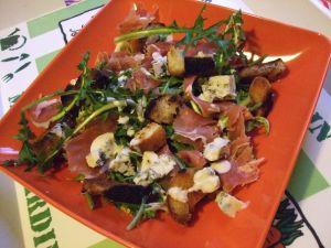 Recette Salade de pissenlits version cigogne