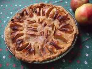 Recette Tarte aux pommes un peu franc-comtoise