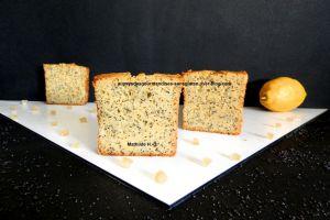 Recette Cake citron pavot sans gluten et sans lactose