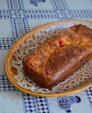 Recette Cake aux poivrons