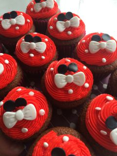 Recette Cupcakes Minnie Mouse