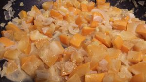 Recette Courgettes au curry