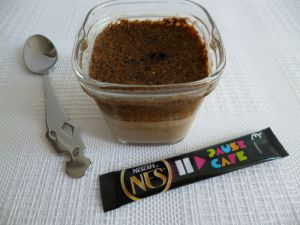 Recette Yaourts soja maison au café avec psyllium et Sukrin (sans sucre)