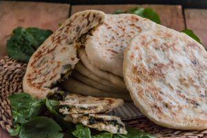 Recette Gozlemes aux épinards, fromage et viande hachée